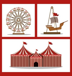 Fair design vector image