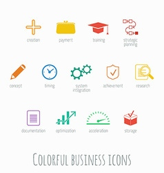 Info graphic icons vector image