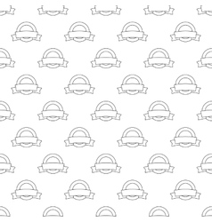 Label pattern seamless vector