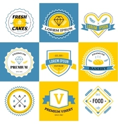 Massive logo set bundle vector