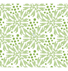 greenery dandelion seamless pattern wallpaper vector image vector image