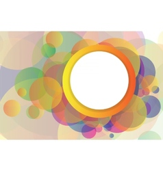 Abstract background with elements vector image