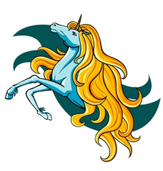 fantasy unicorn vector image