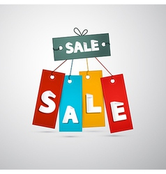Sale Tags Labels vector image vector image