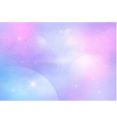 galaxy fantasy background vector image