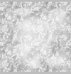Hexagonal white camouflage seamless patttern vector