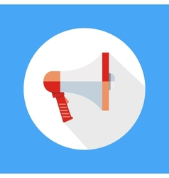 Icon megaphone speak concept vector