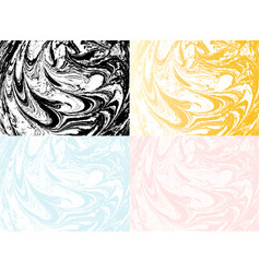 marble abstract background liquid marble vector image