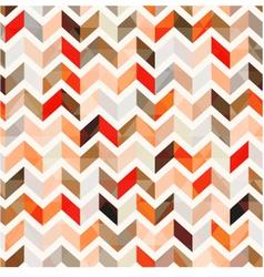 Seamless orange herringbone background vector