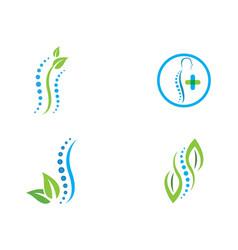 Spine logo icon vector