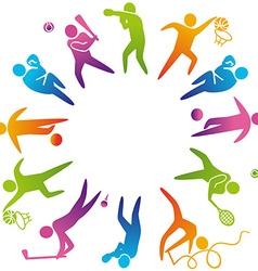SportsWorld vector image