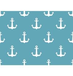 Seamless ships steering wheel pattern vector image