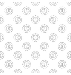 1st place pattern seamless vector image