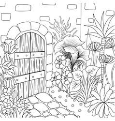 9 garden 3 vector