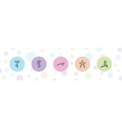 Abs icons vector