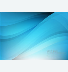 blue color and light geometric gradient texture vector image