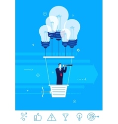 Business concept Businessman vector