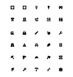 Mini Icons 12 vector