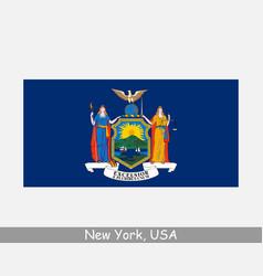 New york usa state flag ny usa vector