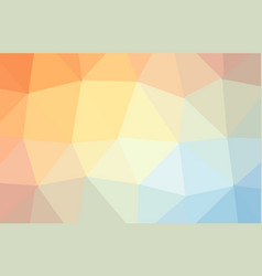 Orange abstract textured polygonal background vector