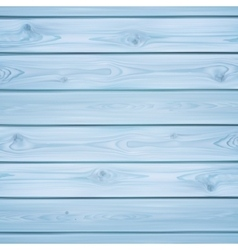 Realistic blue wood planks vector
