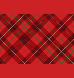 seamless tartan plaid vector image