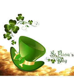 St Patrick holiday vector