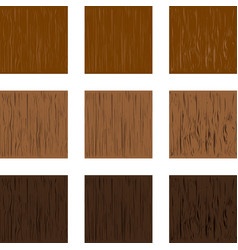 wood structure vector image
