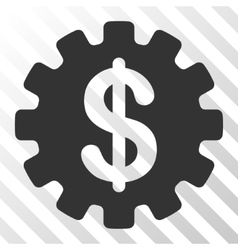 Development Cost Icon vector image
