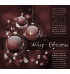 Christmas suggestive background vector image vector image