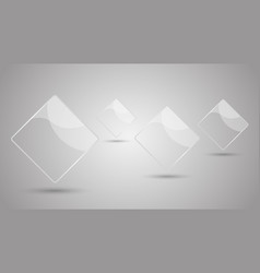 abstract background with gray elements vector image