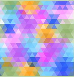 background of geometric shapes colorful mosaic vector image
