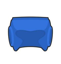 Boxing helmet blue boxer mask isolated spor vector