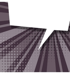 Comic lillac background sketch explosion vector