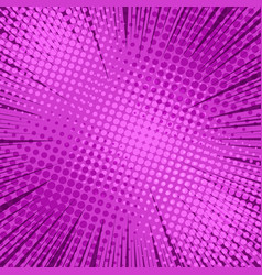 comic page light purple background vector image