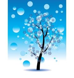Decorative Winter Tree2 vector