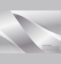 silver and gray color geometric gradient texture vector image