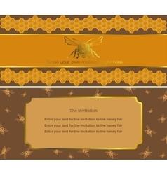 The invitation 1 vector image