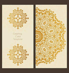 Victorian Lace Card vector