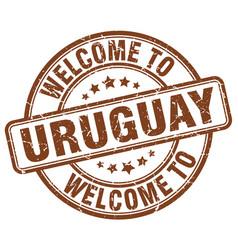 Welcome to uruguay vector