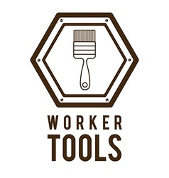 Worker tools design vector image