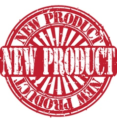 New product stamp vector image vector image