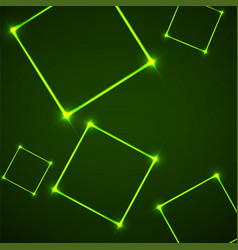 abstract background with neon squares for design vector image
