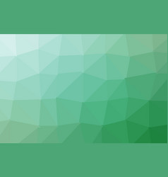 abstract green polygon geometric background low vector image