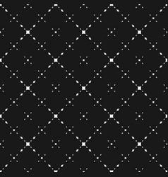 dark minimalist seamless pattern diamond shapes vector image