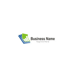 Document business finance logo vector