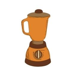 kitchen blender icon image vector image