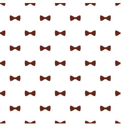 Red fashion bow pattern seamless vector