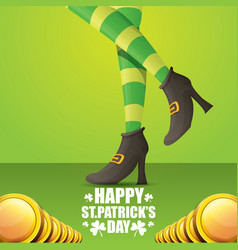 Saint patrick day background vector