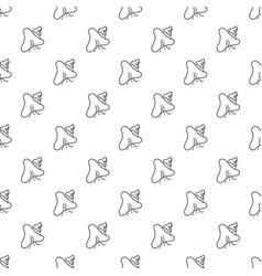 Smallpox virus pattern seamless vector